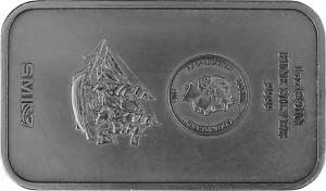 Silberbarren 1oz Silber - B-Ware