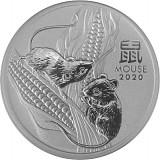 Lunar III Maus 1oz Silber - 2020