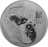 Lunar III Maus 1kg Silber - 2020
