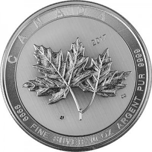 Kanada Magnificent Maple Leaf 10oz Silber - 2017