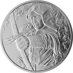 Österreich Robin Hood 1oz Silber - 2019