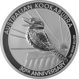 Kookaburra 1oz Silber - 2020