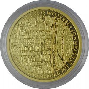 100 Euro 1/2oz Gold - 2016 Regensburg