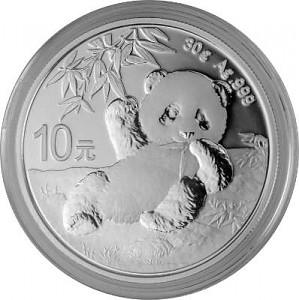 China Panda 30g Silber - 2020
