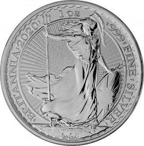 Britannia 1oz Silber - 2020