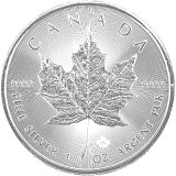Maple Leaf 1oz Silber - 2020