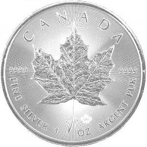 Maple Leaf 1oz Silber - 2020