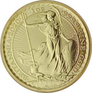 Britannia 1oz Gold - 2020