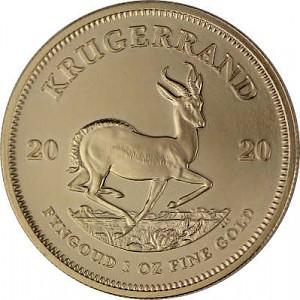 Krügerrand 1oz Gold - 2020