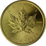 Maple Leaf 1oz Gold - 2020