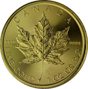 Maple Leaf 1oz Gold - 2020