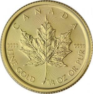 Maple Leaf 1/4oz Gold - 2020