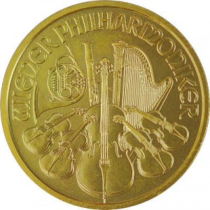 Wiener Philharmoniker 1/4oz Gold - 2020