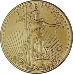 American Eagle 1oz Gold - 2020