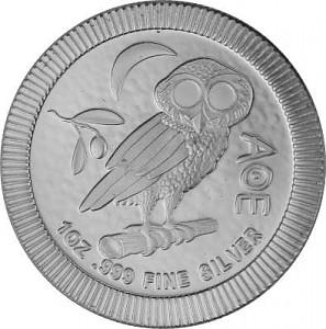 Niue Athener Eule 1oz Silber - 2020