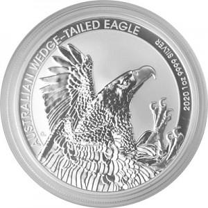 Keilschwanz Adler Australien (Wedge Tailed Eagle) 1oz Silber - 2020