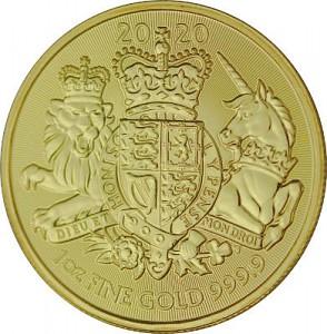 UK Königliches Wappen 1 Unze Gold - 2020