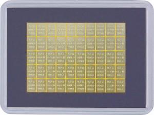 Goldbarren - Tafelbarren CombiBar 25g (50x 0,5g)