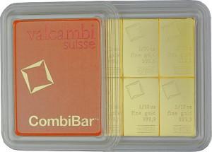 Goldbarren - Tafelbarren - CombiBar 1oz (10x 1/10oz)
