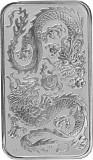 Perth Mint Rectangular Dragon 1oz Silber - 2020