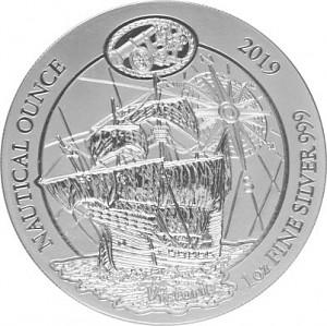 Ruanda Nautical Serie - 500 Jahre Victoria 1oz Silber - 2019 (regelbesteuert)