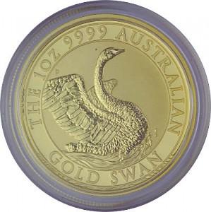 Australien Schwan 1oz Gold - 2020