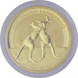 Känguru 1/2oz Gold - 2010