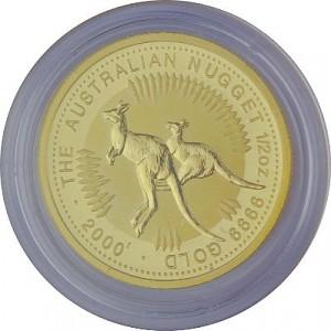Känguru 1/2oz Gold - 2000