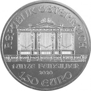 Wiener Philharmoniker 1oz Silber - 2020