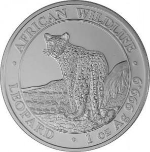 Somalia Leopard 1 oz Silber - 2018