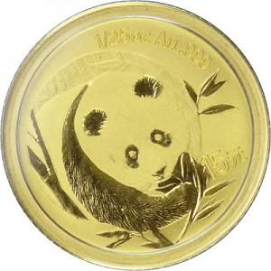 China Panda 1/25oz Gold