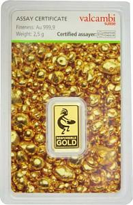Goldbarren 2,5g - Auropelli Responsible-Gold