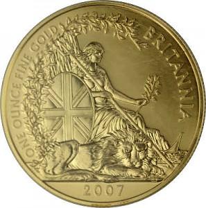 Britannia 1oz Gold - 2007