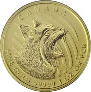 Call of the wild - Rotluchs 1oz Gold - 2020
