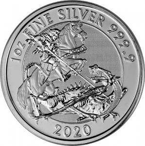 Great Britain Valiant 1oz Silber - 2020