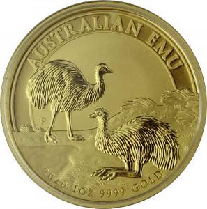Australien Emu 1oz Gold - 2020