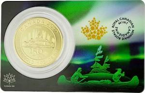 Kanada 150 Jahre Voyageur 1oz Gold - 2017