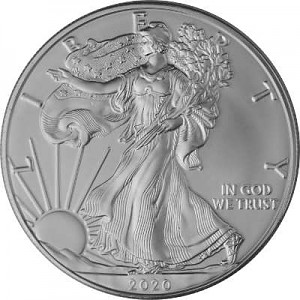 American Eagle 1oz Silber - 2020