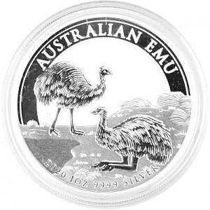 Emu Australien 1 Unze Silber - 2020