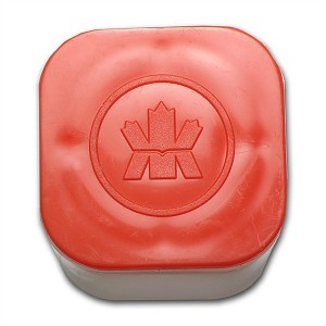 Tube Gold Canadian Maple Leaf 1oz - Empty