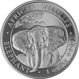 Somalia Elefant 1 oz Silber - 2021