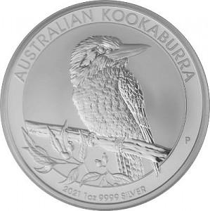 Kookaburra 1oz Silber - 2021