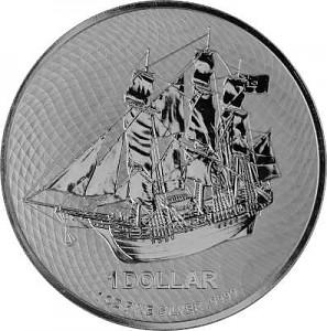 Cook Island 1oz Silber - 2020