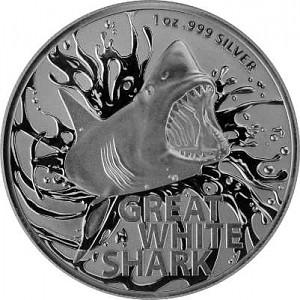 Great White Shark RAM 1oz Silber - 2021