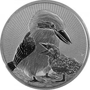 Australien Next Generation Piedfort Kookaburra 2oz Silber - 2020