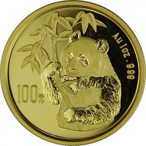 China Panda 1oz Gold - 1995