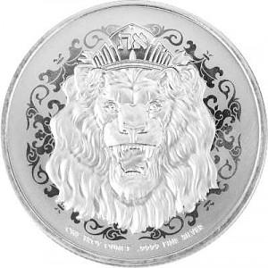 Niue Roaring Lion Truth Serie 1 Unze Silber - 2021