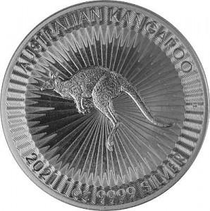 Australien Känguru 1oz Silber - 2021