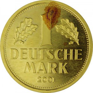 1 Goldmark 12g Gold - 2001 B-Ware