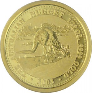 Känguru/Nugget 1/20oz Gold - 2003